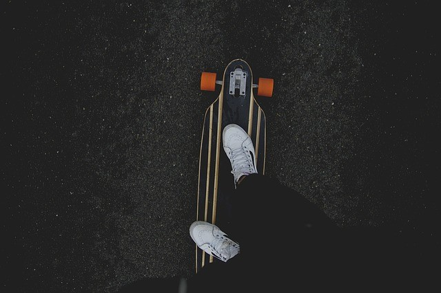 Skateboarding to Stay in Shape