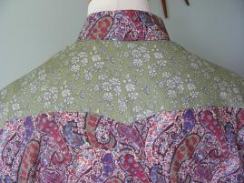 back yoke Bourton/Capel mixed prints