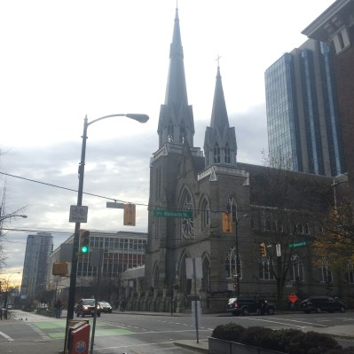 Holy Rosary Cathedral RIchards and Dunsmuir Street, Vancouver