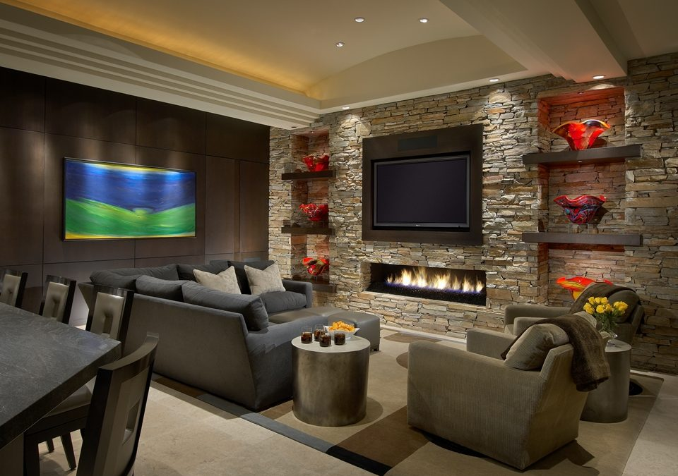 decorating a living room with fireplace and tv how to decorate long at the end designing family layout for design can we have our cake eat it too