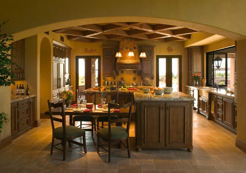 Tuscan Interior Design Janet Brooks Design Scottsdale