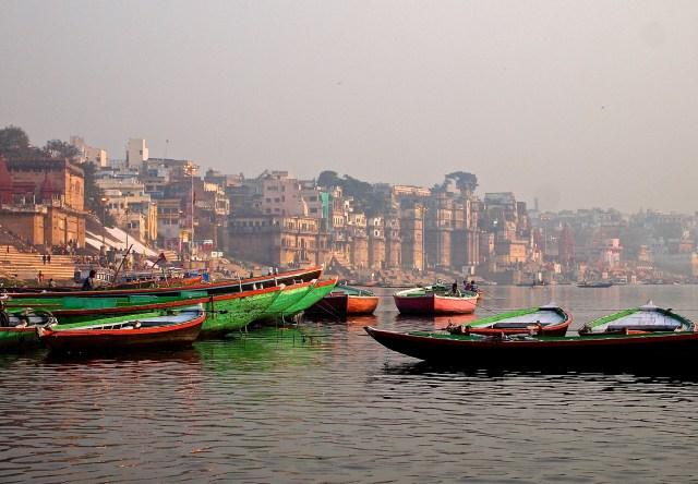 Misty Sunrise on the Ganges