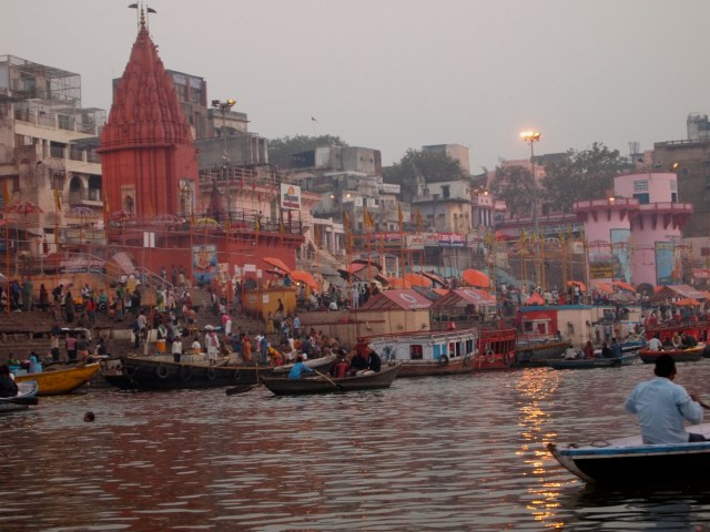 Banks of the Ganges at Sunrise