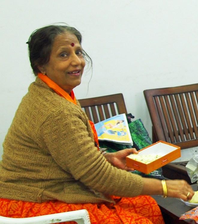 Shyamali in Studio