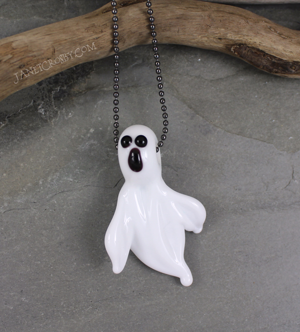 Ghost Necklace by Janet Crosby