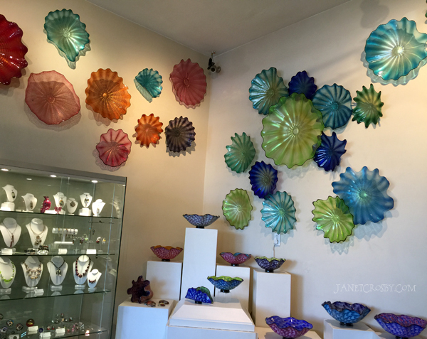 Seattle Glassblowing Studio Wall