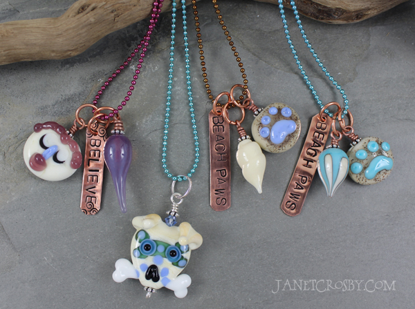 Lampwork Bead Necklaces by Janet Crosby