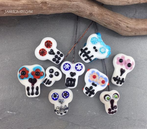 Sugar Skulls by Janet Crosby