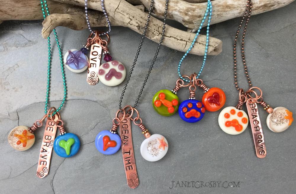 Handmade Lampwork Necklaces