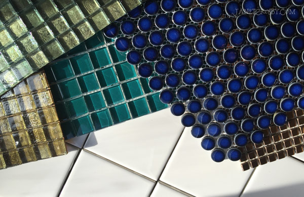Tiles - glass and porcelain