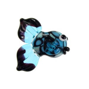 Black And Blue Fish - janetcrosby.com