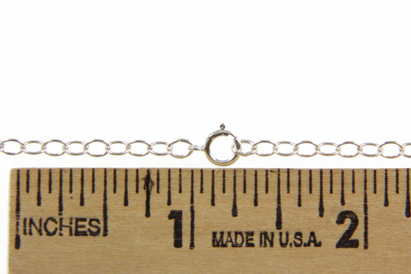 """Sterling Cable Chain 20"""" - 3mm Large Cable"""