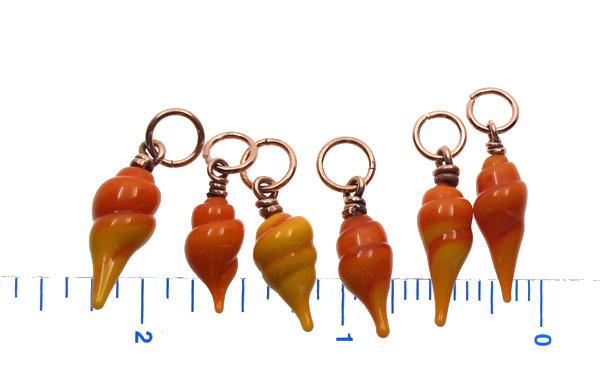 Sea Shell Charm Set by Janet Crosby