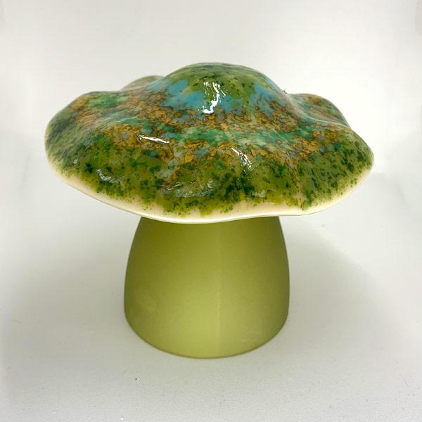 Forest Ring Ruffle Top Mushroom Lamp
