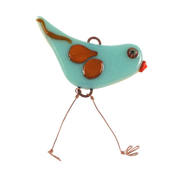 Big Blue Bird by Janet Crosby