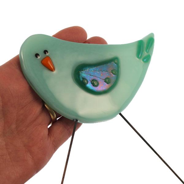 Garden Bird - Wilma by Janet Crosby