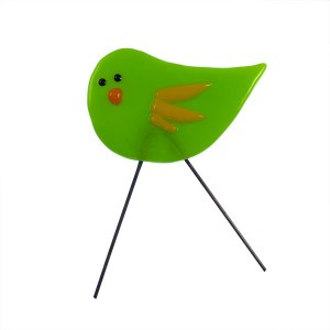 Garden Bird Mini Limebird by Janet Crosby