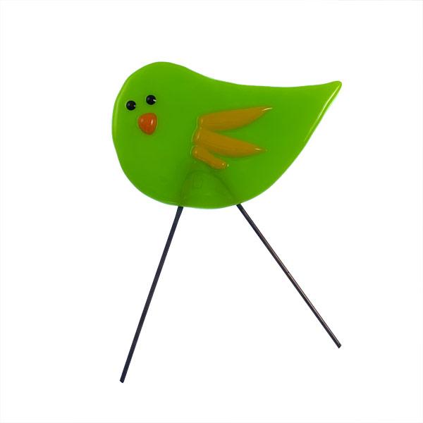 Garden Bird Mini Limebird by Janet Crosby