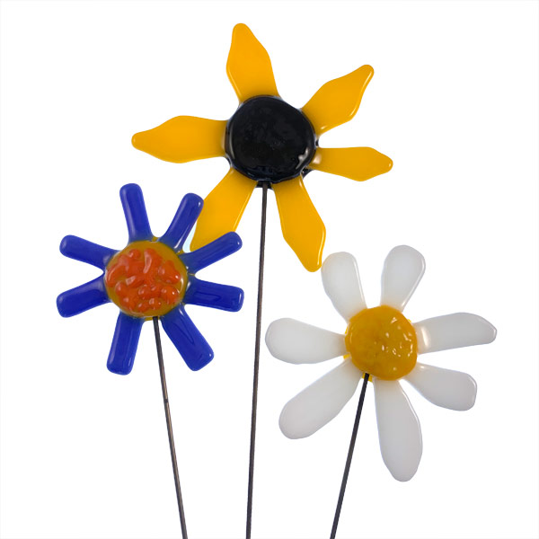 Garden Stake Flowers
