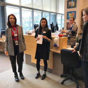 SLA club visits BC Cancer
