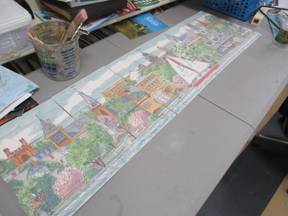 bench tiles