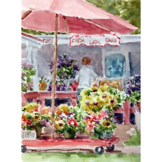 Janet Francoeur New Bern NC artist Local Produce
