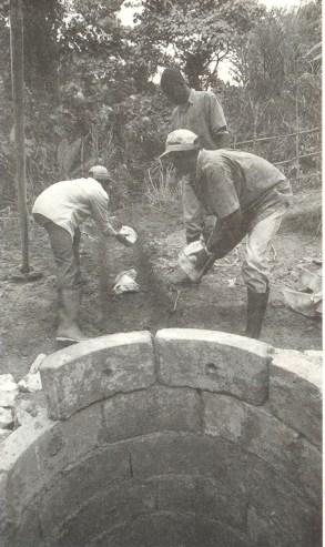 Building the well head