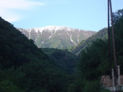 The Tien Shan Mountains at our fingertips