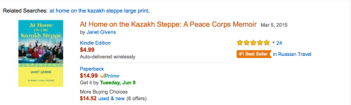 Screenshot Best seller in Russian Travel