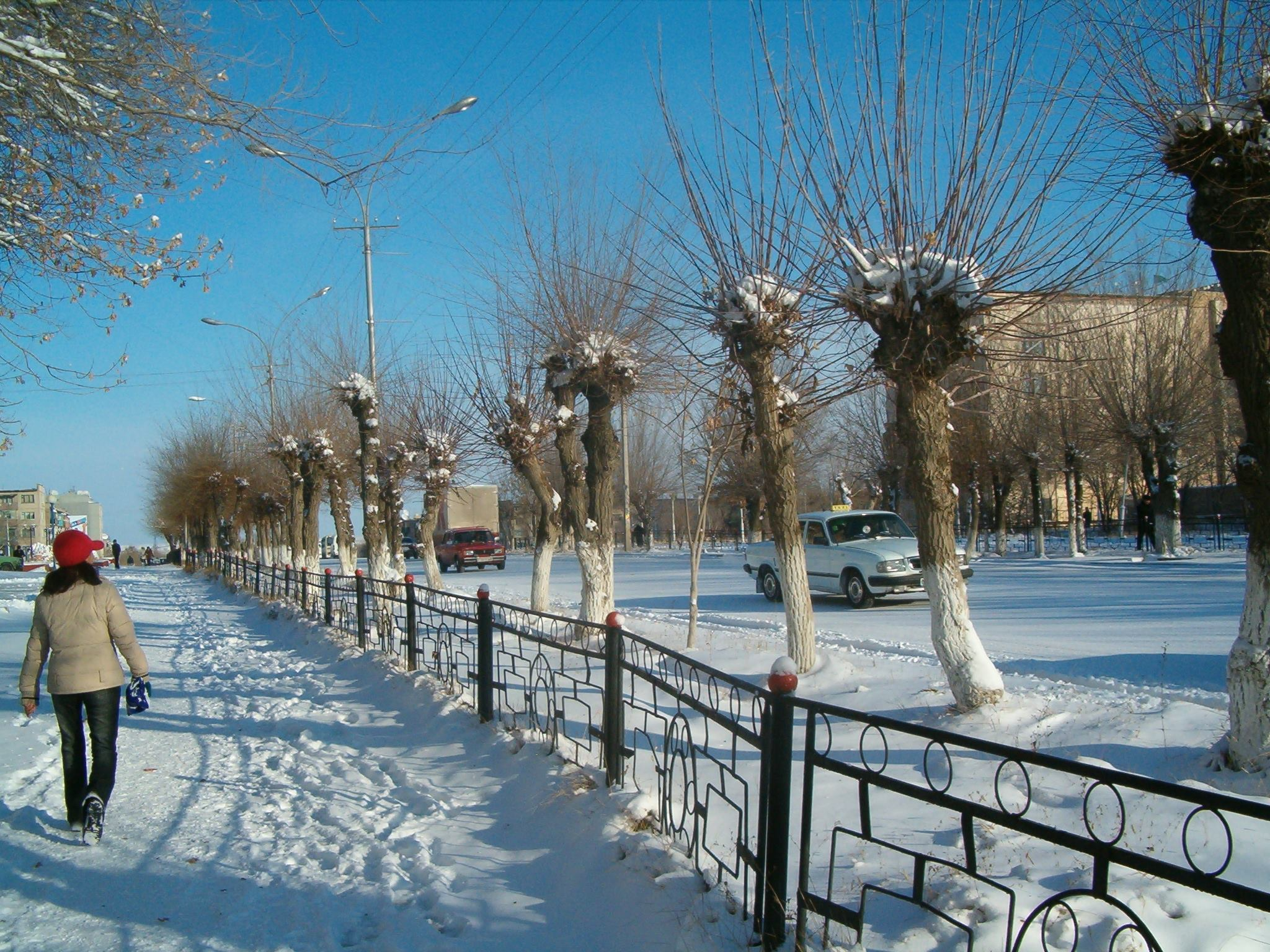 Winter in Zhezkazgan