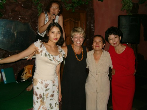 Photo of Salye, Janet Givens, Author of At Home on the Kazakh Steppe
