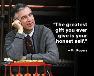 The Vision Of Mr Rogers Janet Givens