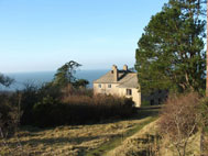 Othona, with views of the sea in the distance