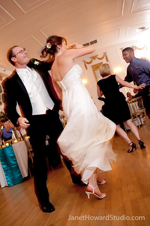 Wimbish house wedding reception dancing