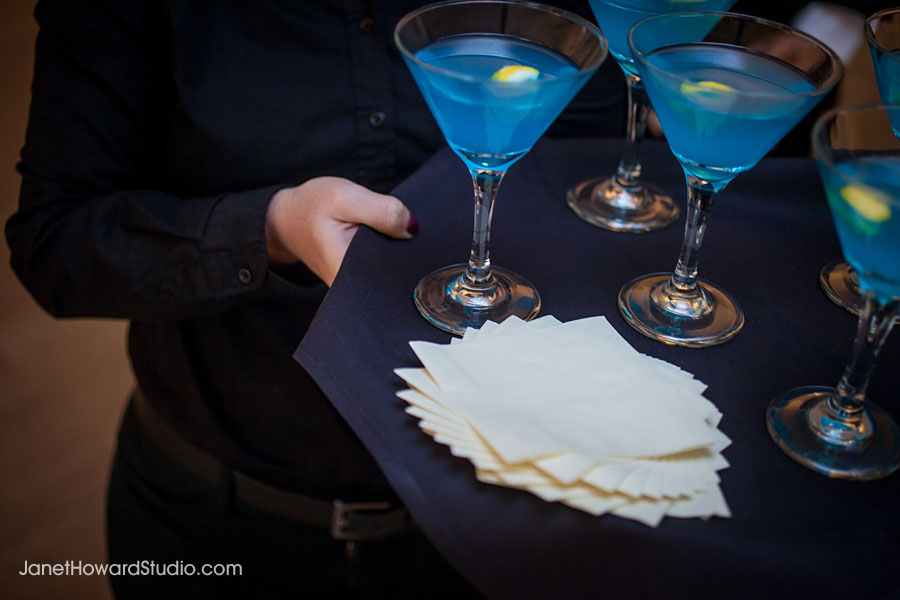 Tiffany blue signature drink