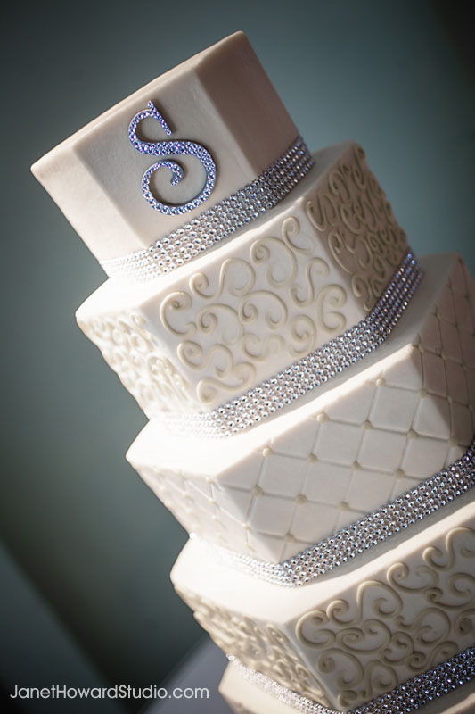 Wedding cake by For Goodness Cakes