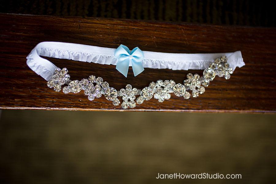 Sparkly garter