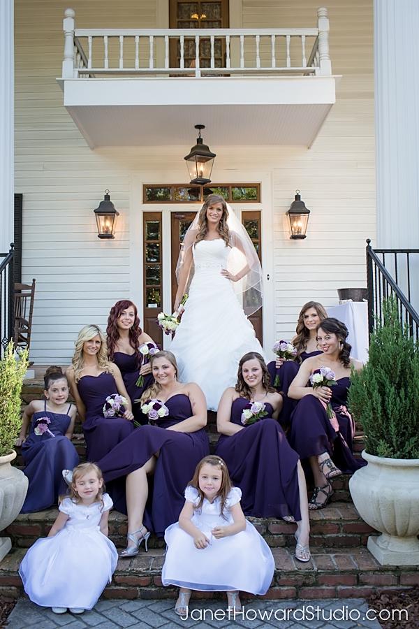 Bridesmaids at The Carl House
