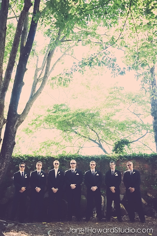 Groomsmen at The Carl House