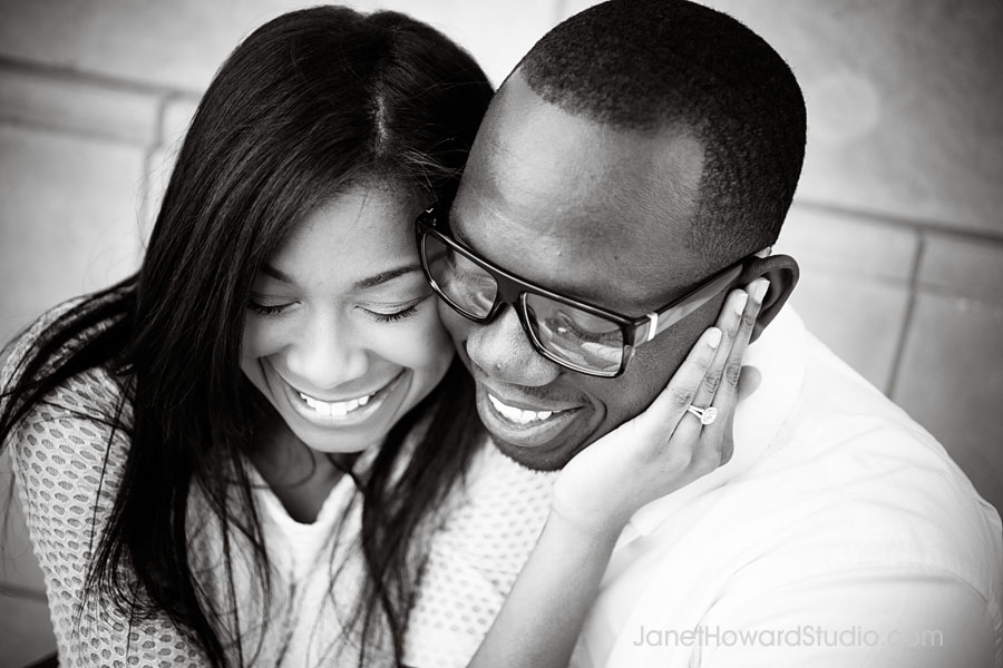 Atlanta Engagement Session by Janet Howard Studio