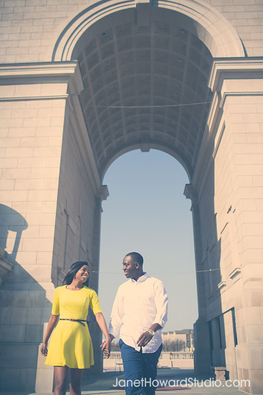 Atlanta Engagement Session at MIllenium Gate Park