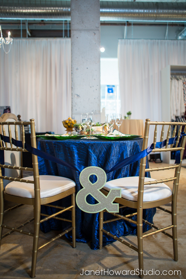 And sign between bride and groom chairs, by Lemiga Events and yourhinote.com