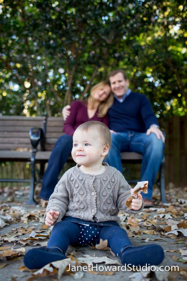Atlanta Family Portraits in the Park