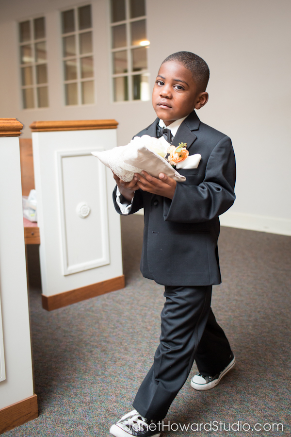Ring bearer West Hunter Street Baptist Church