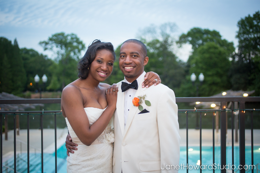 Wedding reception at Greystone at Piedmont Park