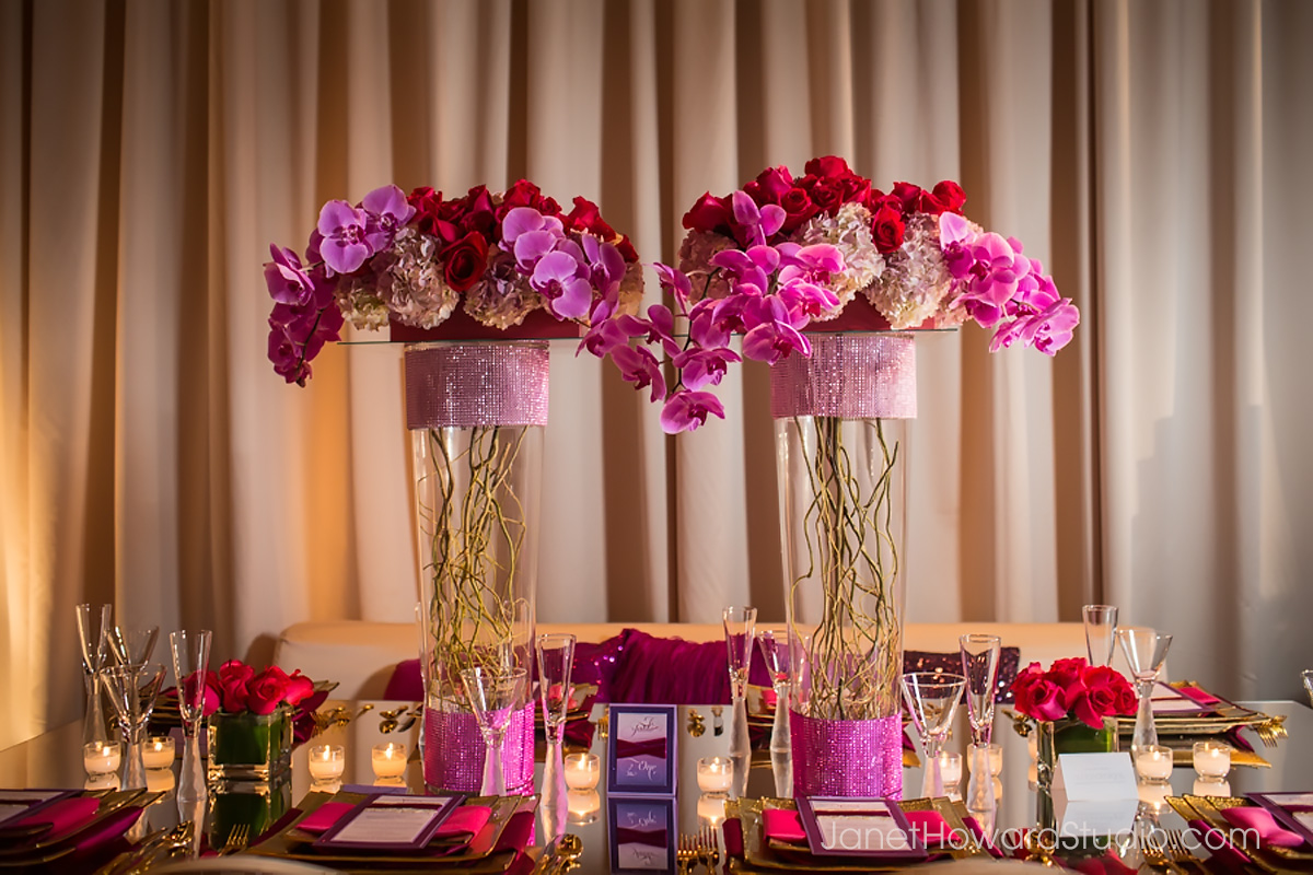 The Inspired Bride Sex and the City Reception Decor