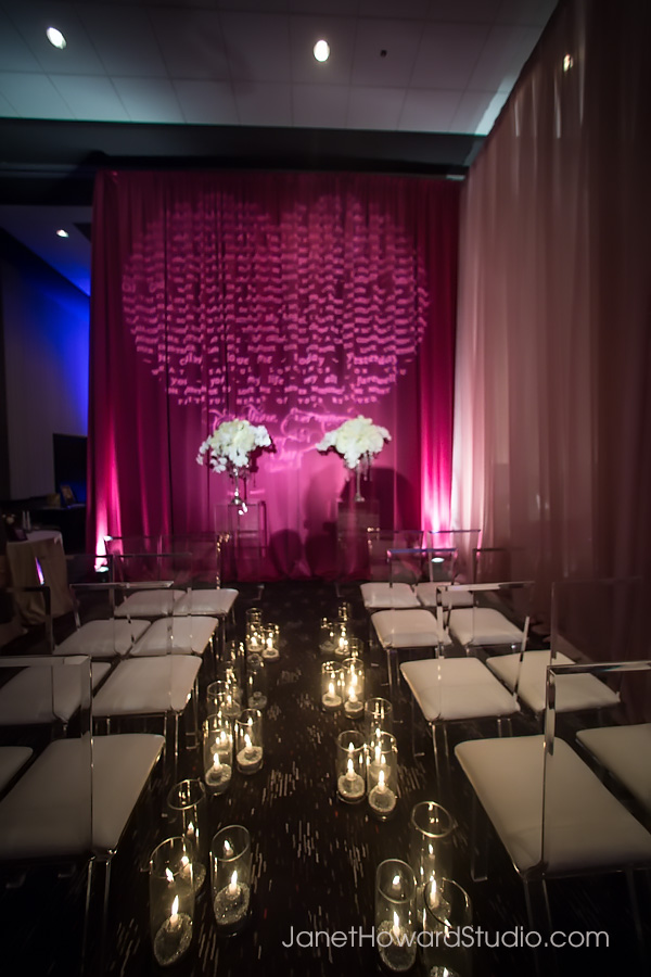 The Inspired Bride Sex and the City Ceremony Decor