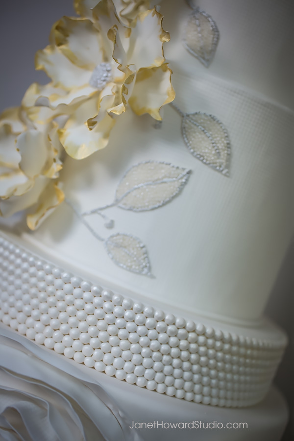 Vera Wang inspired cake by For Goodness Cakes