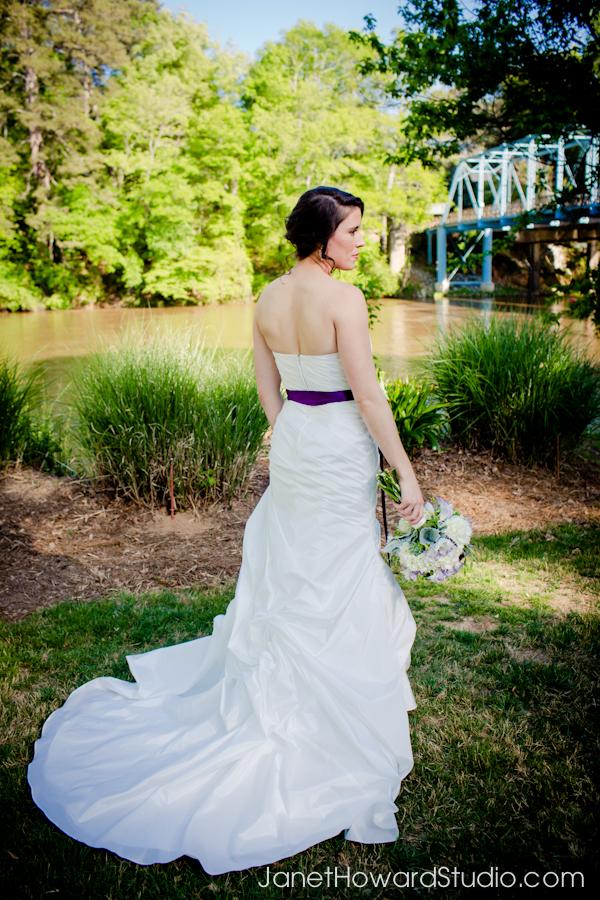 Wedding portraits at Canoe
