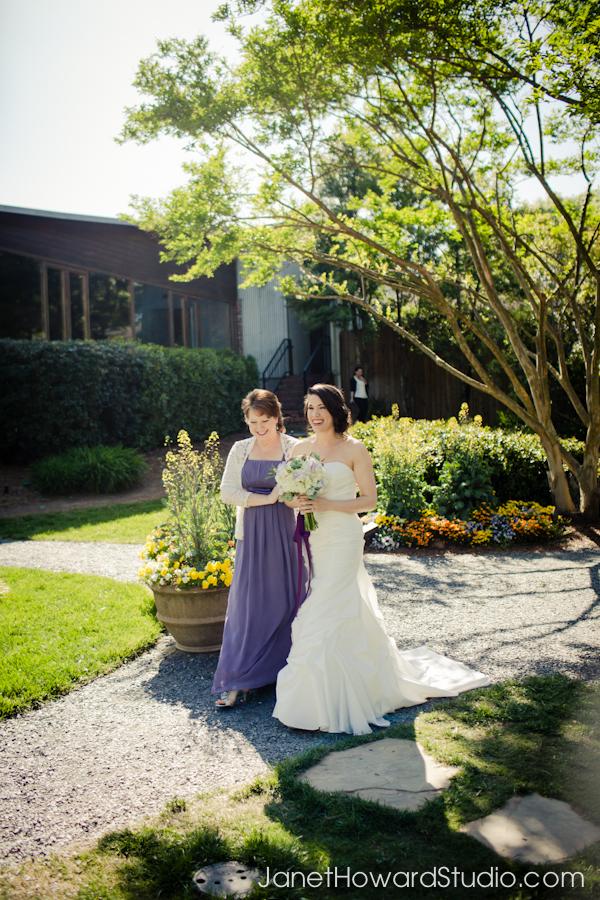 Atlanta wedding ceremony at Canoe